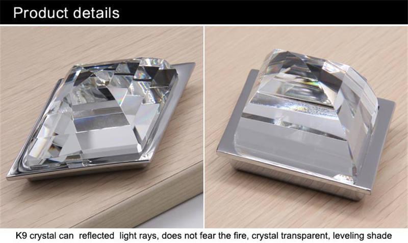 Milk white translucent glass knobs for dresser001