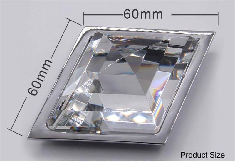 Milk white translucent glass knobs for dresser002