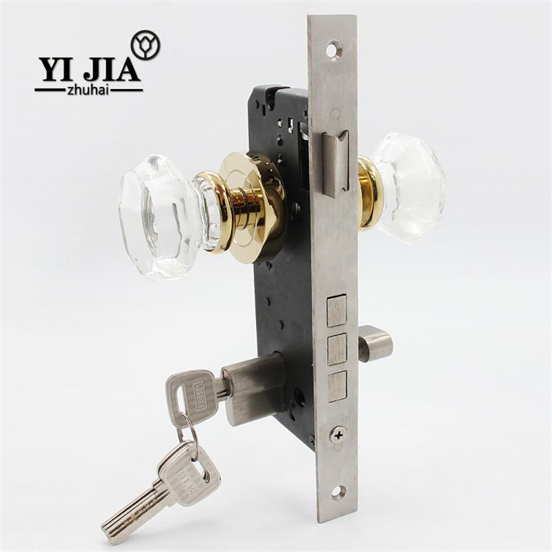 Crystal Home Interior Door Handles And Locks Yijia Crystal