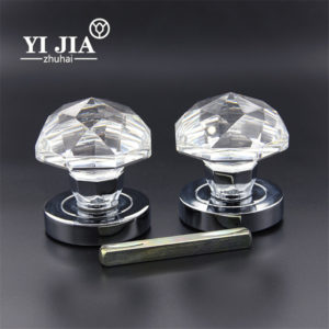 modern crystal door knobs